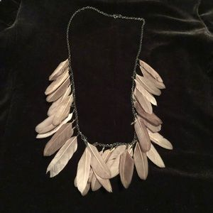 Lot of feather jewelry